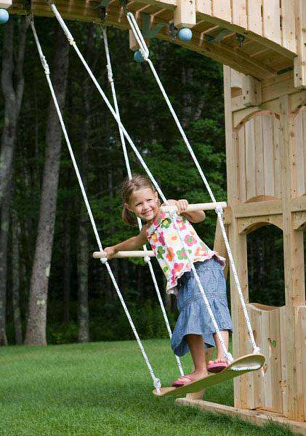 22 Amazingly Diy Patio And Garden Swings