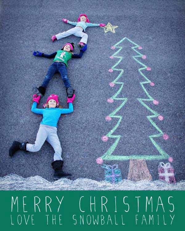 cool christmas photo ideas - 38 The Cutest and Most Fun Family Christmas Card