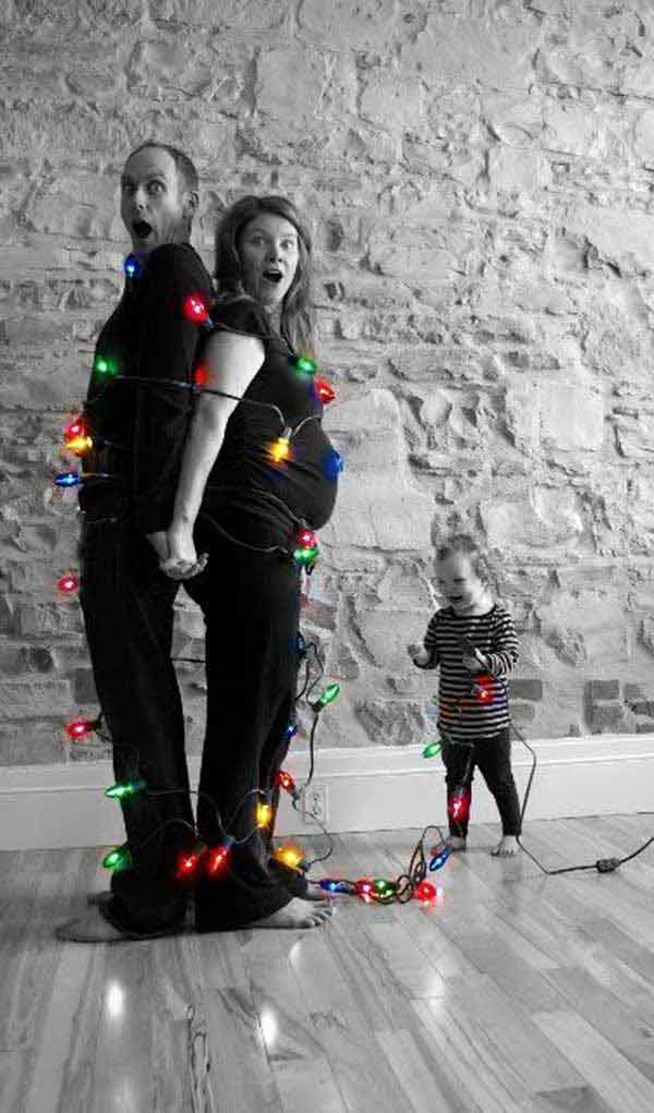 family photo christmas card ideas pinterest - 38 The Cutest and Most Fun Family Christmas Card