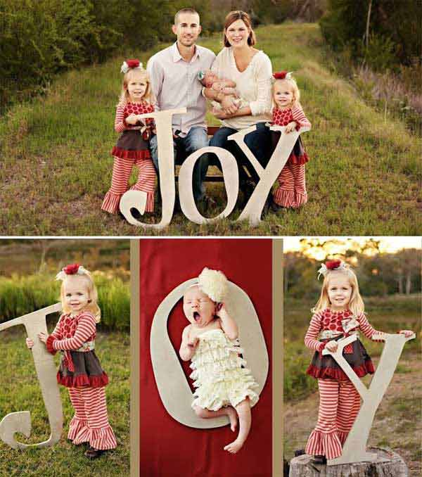 great christmas family photo ideas - 38 The Cutest and Most Fun Family Christmas Card