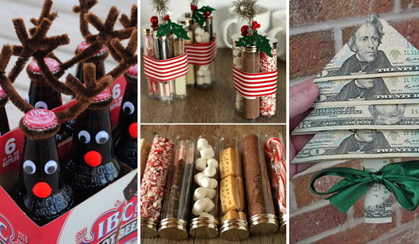 30 last minute diy christmas gift ideas everyone will love for Creative christmas ideas