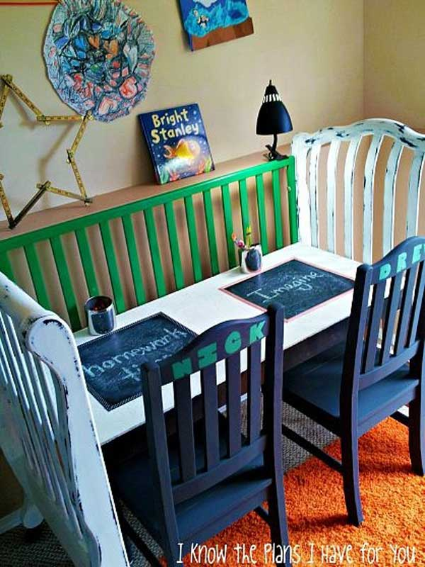 Top 30 Fabulous Ideas To Repurpose Old Cribs