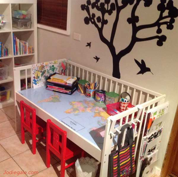 Top 30 Fabulous Ideas To Repurpose Old Cribs - Amazing DIY ...