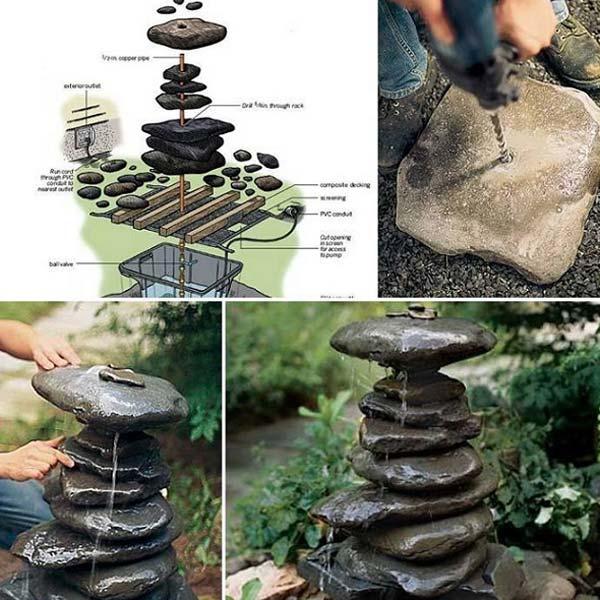 Rock Stone Garden Decor 13