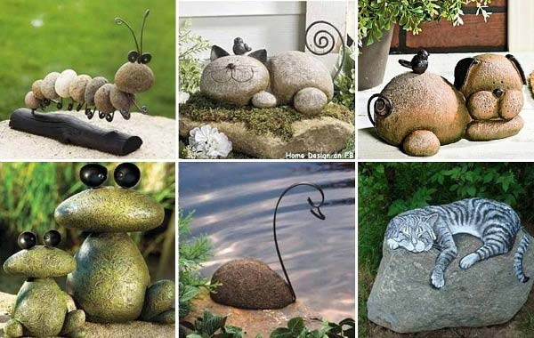26 fabulous garden decorating ideas with rocks and stones for Decoracion de jardines con piedras