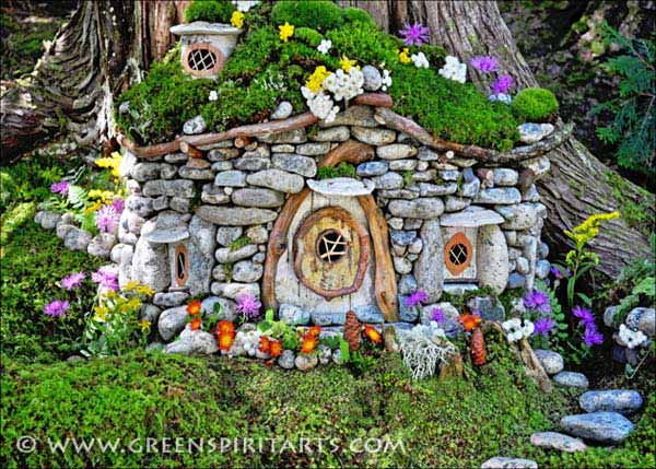 Rock Stone Garden Decor 21