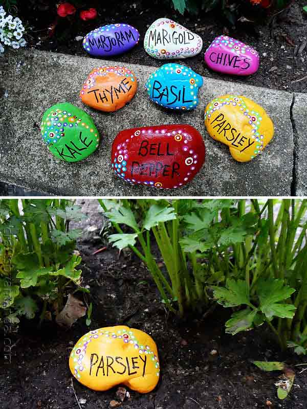 Garden Decorations Part - 42: Rock-stone-garden-decor-7