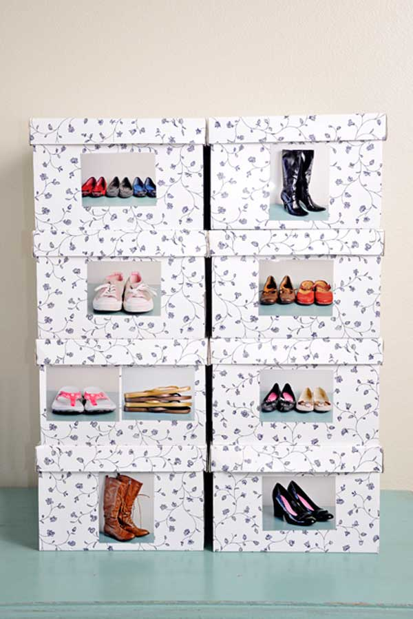 diy decorated storage boxes. Shoe-storage-ideas-woohome-3 Diy Decorated Storage Boxes