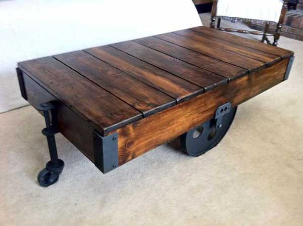 Top 23 Extremely Awesome DIY Industrial Furniture Designs  : DIY industrial furniture woohome 12 from www.woohome.com size 600 x 447 jpeg 24kB