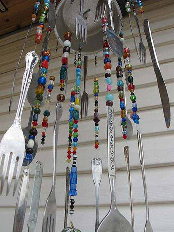 36 easy and beautiful diy projects for home decorating you for Easy to make wind chimes
