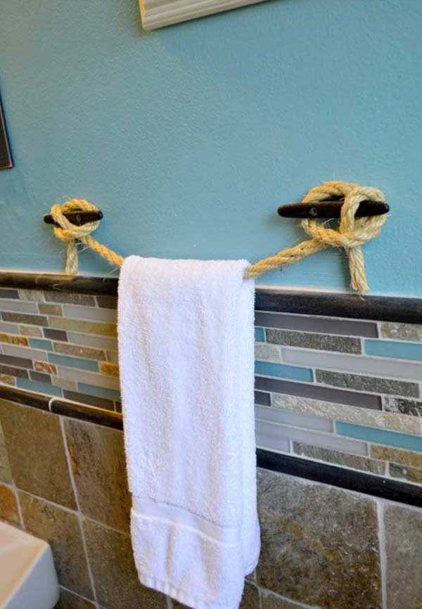 32 Of The Most Genius Diy Projects To Keep Bath Towels