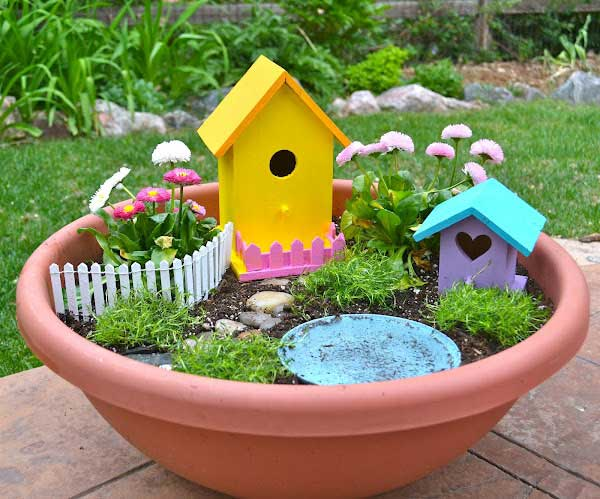 12 fun spring garden crafts and activities for kids for Garden designs for kids