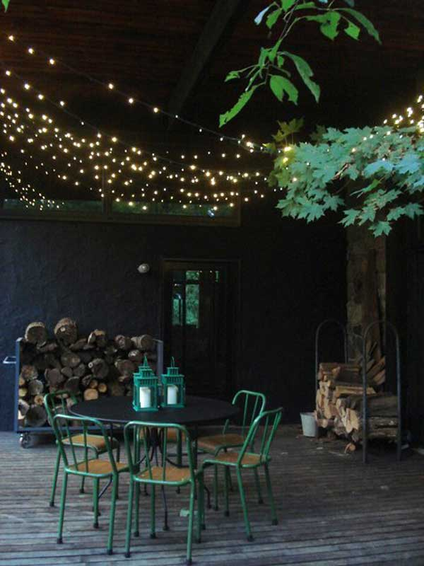 26 breathtaking yard and patio string lighting ideas will ... - String Lights Patio Ideas