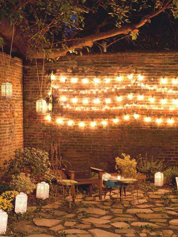 Patio Outdoor String Lights Woohome 12