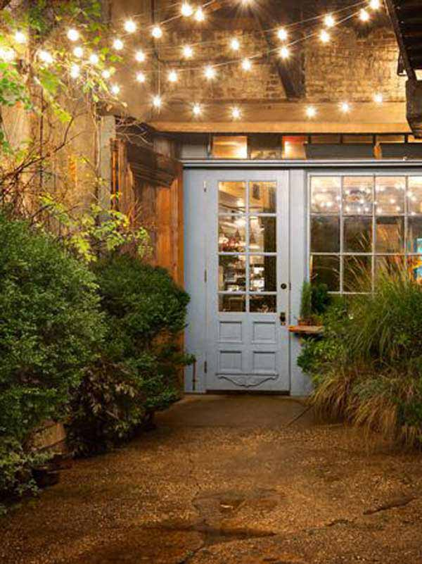 26 Breathtaking Yard and Patio String lighting Ideas Will ... on Deck String Lights Ideas id=64352