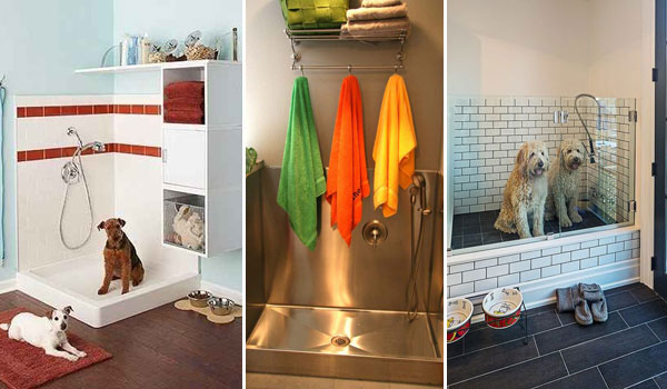 17 Insanely Cool Bathroom Ideas For Your Doggies