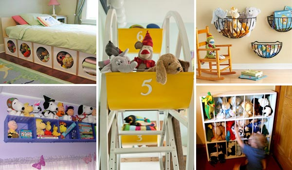 Stuffed-Toy-Storage-woohome-0 & Top 28 Clever DIY Ways to Organize Kids Stuffed Toys - Amazing DIY ...