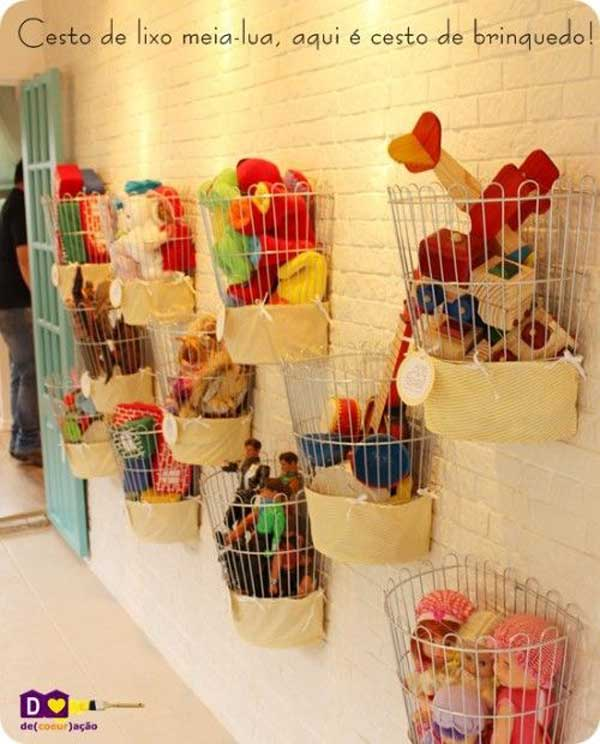 Merveilleux Stuffed Toy Storage Woohome 22