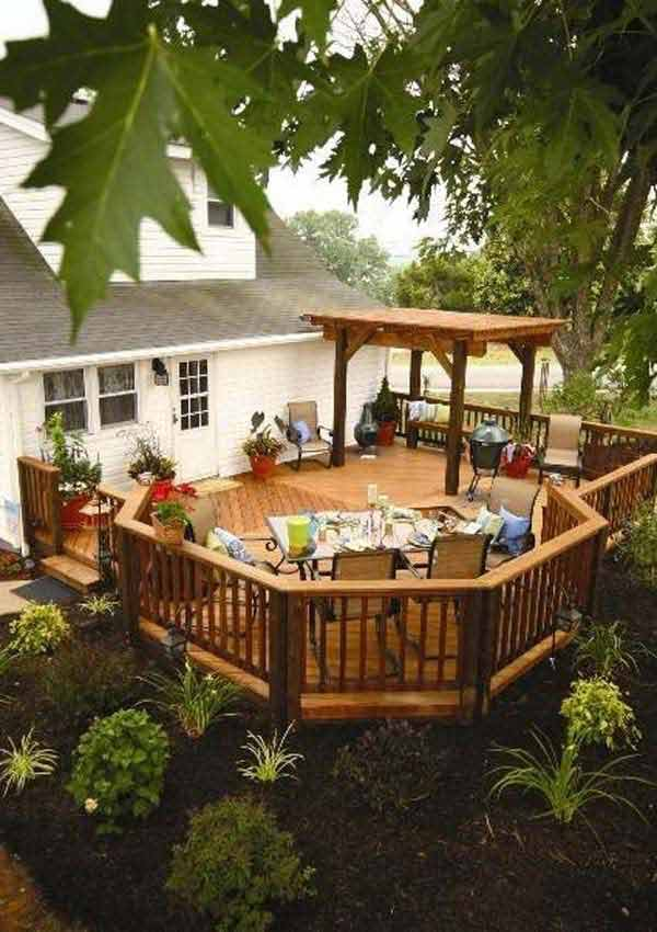 32 wonderful deck designs to make your home extremely awesome - Deck ideas for home ...