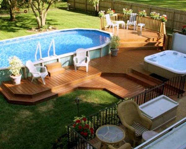 Deck Design Ideas an evening escape this classic deck design Deck Design Ideas Woohome 15