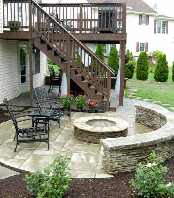 Ideas For Deck Design two story decks with stairs stair layout design ideas pictures remodel and Deck Design Ideas Woohome 2