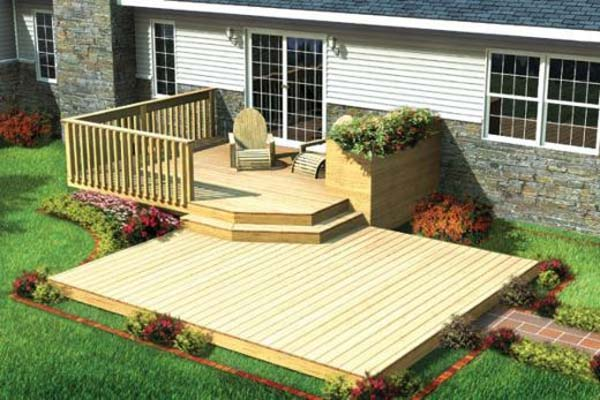 32 wonderful deck designs to make your home extremely for Affordable furniture grants pass oregon