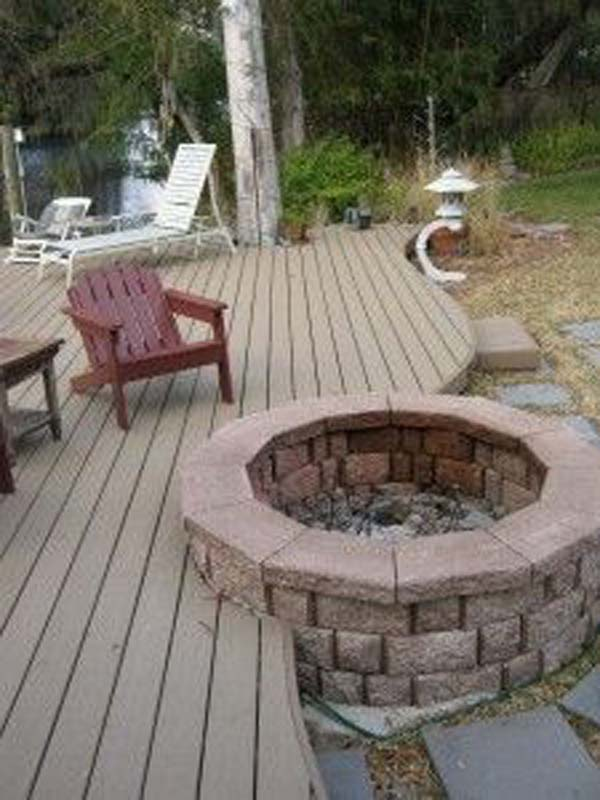 deck design ideas woohome 8 - Backyard Deck Design Ideas