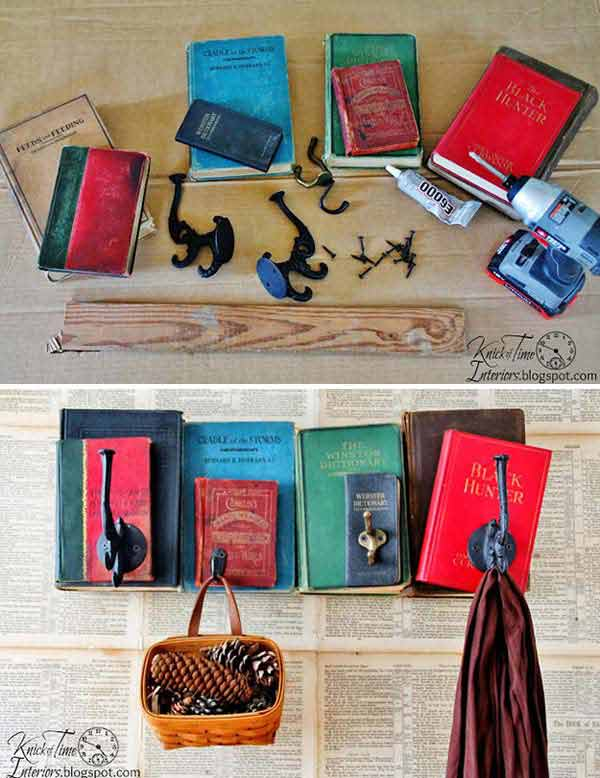 Decorate Home With Books Woohome 18