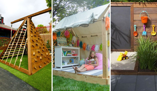 25 Playful DIY Backyard Projects To Surprise Your Kids - 25 Playful DIY Backyard Projects To Surprise Your Kids - Amazing DIY