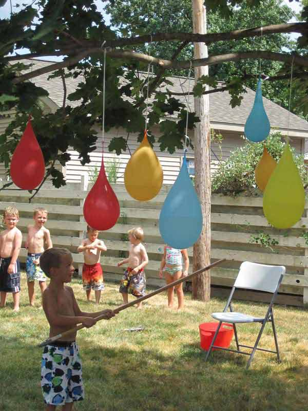 1st anniversary photo shoot ideas - 25 Playful DIY Backyard Projects To Surprise Your Kids