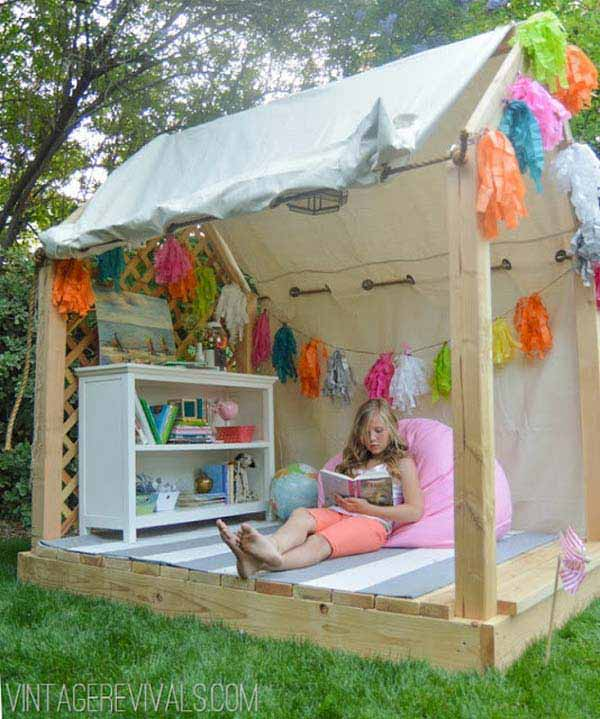 Diy Backyard Projects Kid Woohome 12