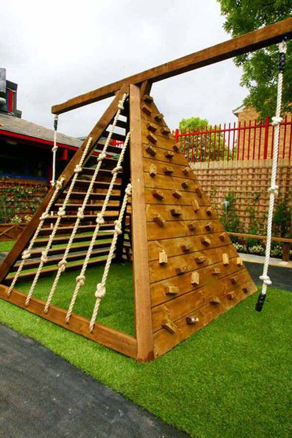 Playground Ideas For Backyard cool home kid friendly backyard design with wooden fences and kids fantastic kids friendly backyard designs fascinating home kid friendly backyard Diy Backyard Projects Kid Woohome 4