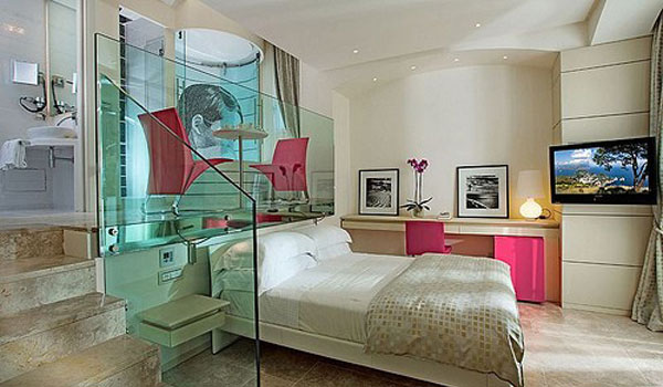 24 astonishing hotel style bedroom designs to get inspired for Hotel bedroom designs