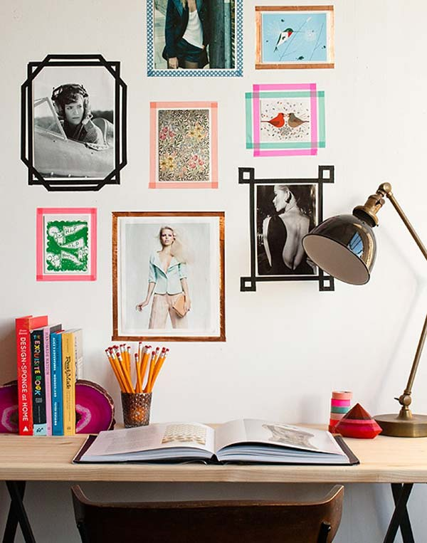 Top 24 Simple Ways to Decorate Your Room with Photos ... on How To Decorate Your Room  id=88464