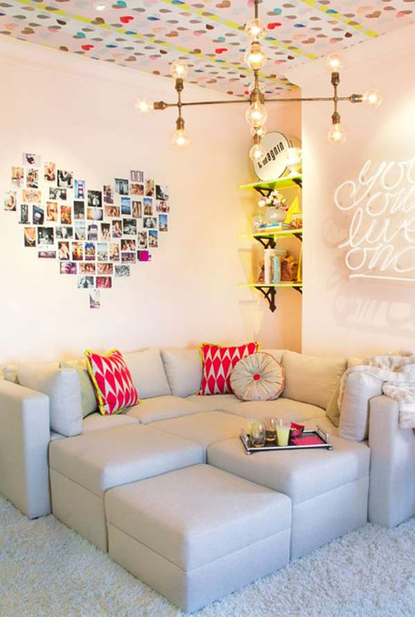 Top 24 Simple Ways to Decorate Your Room with Photos ... on How To Decorate Your Room  id=47515