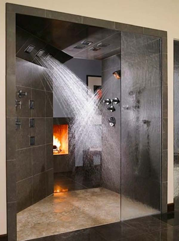 27 Must See Rain Shower Ideas for Your Dream Bathroom Rain Shower Modern Bathroom Design on cool industrial kitchen design, small bathroom shower tile design, double shower bathroom design, hgtv bathroom design, steel industrial kitchen interior design, open plan bathroom design, industrial bathroom design, japanese soaking tub bathroom design, bathroom steam shower room design,
