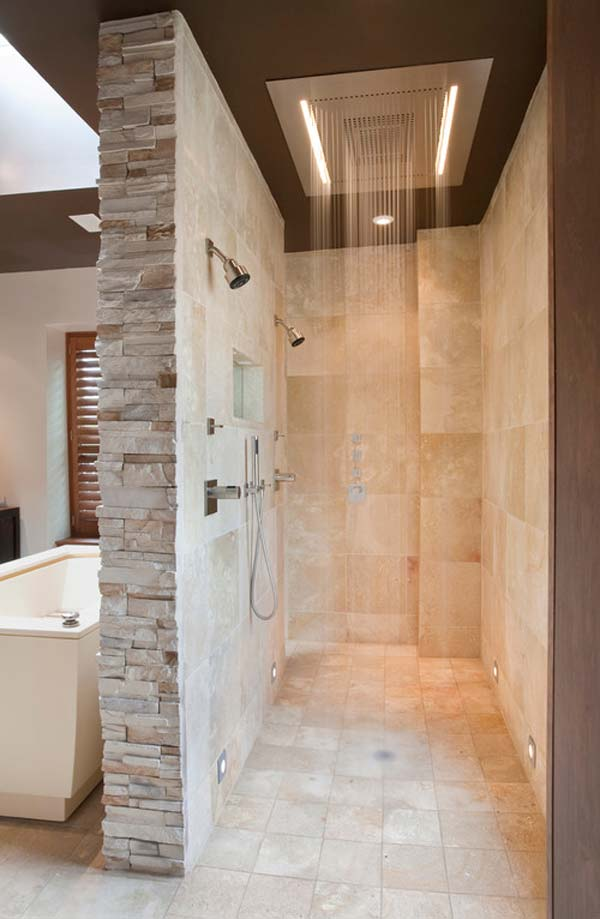 27 must see rain shower ideas for your dream bathroom for Bathroom shower ideas