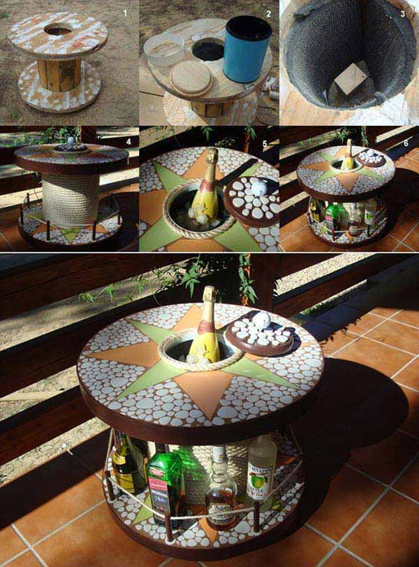 21 budget friendly cool diy home bar you need in your home amazing diy int - Mini bar table design ...