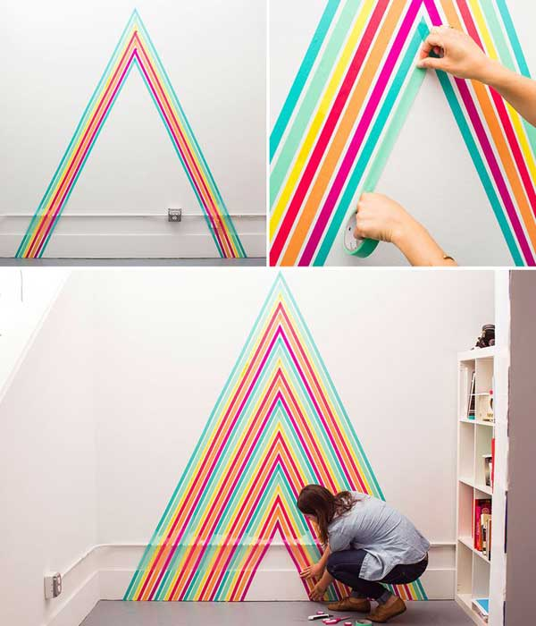 26 DIY Cool And No-Money Decorating Ideas for Your Wall - Amazing ...