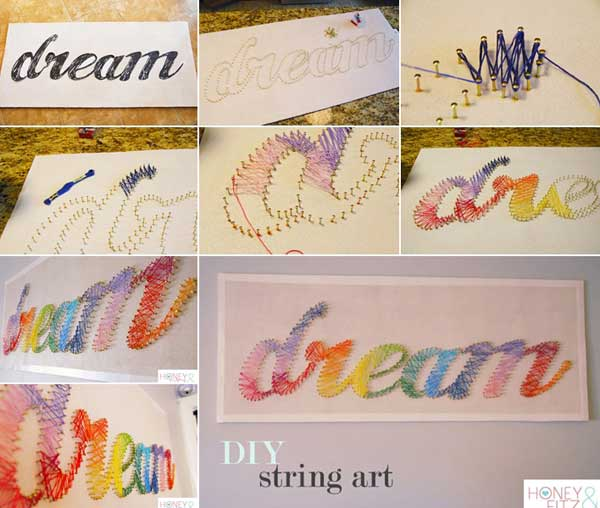 Wall Decor Diy 26 diy cool and no-money decorating ideas for your wall