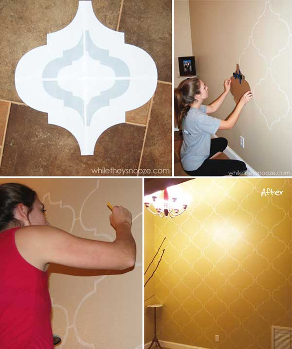 Diy Wall Decor Woohome 6