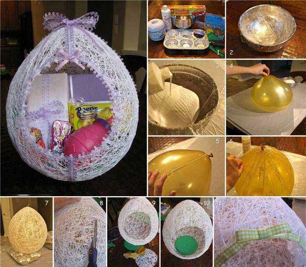 30 cool and easy diy easter crafts to brighten any home for Diy easter decorations home