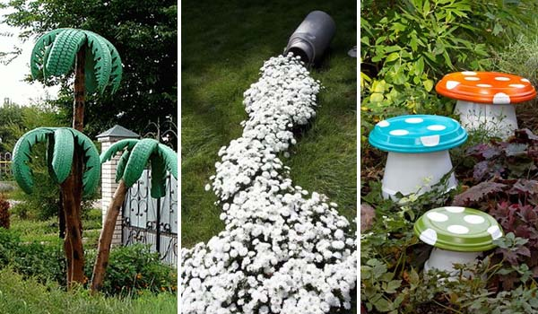 34 Easy And Diy Art Projects To Dress Up Your Garden