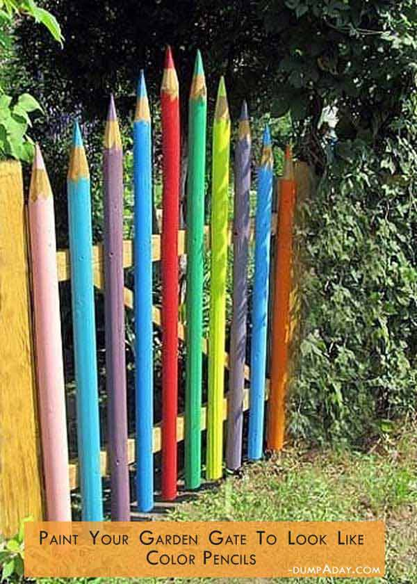 easy garden projects woohome 27 - Garden Art Ideas For Kids