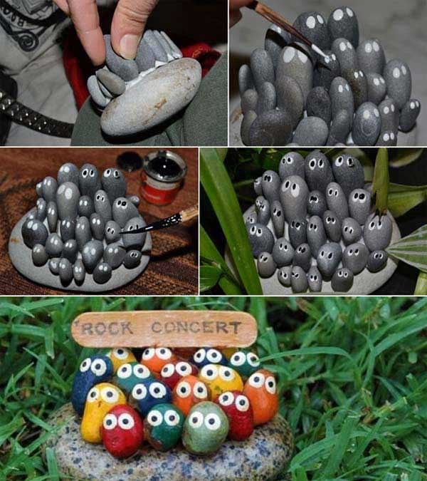 34 easy and cheap diy art projects to dress up your garden for Garden decoration ideas