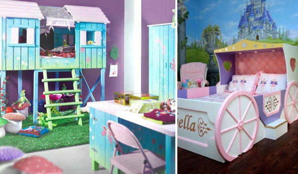 . Top 19 Fantastic Fairy Tale Bedroom Ideas for Little Girls
