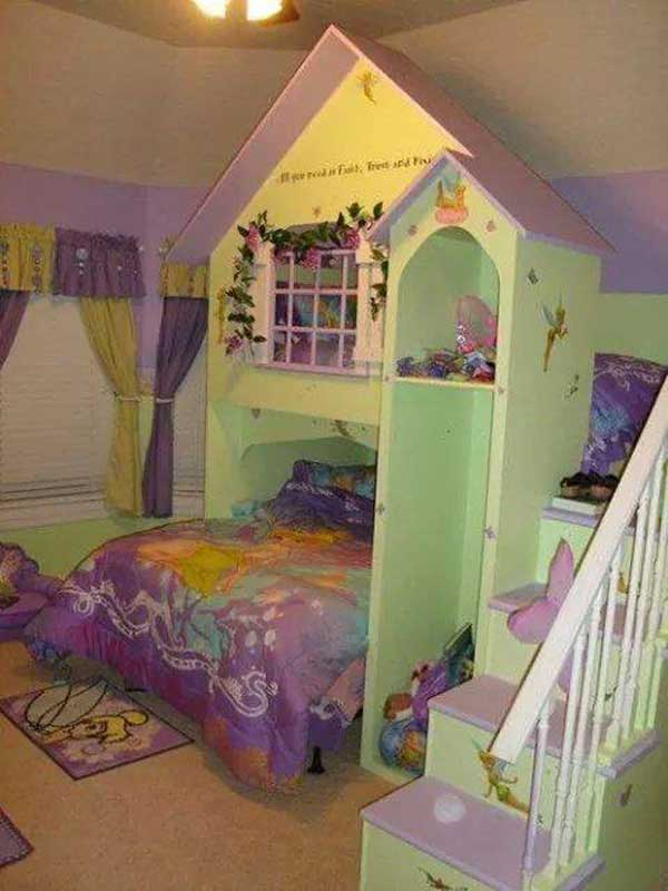 top 19 fantastic fairy tale bedroom ideas for little girls amazing diy interior home design. Black Bedroom Furniture Sets. Home Design Ideas