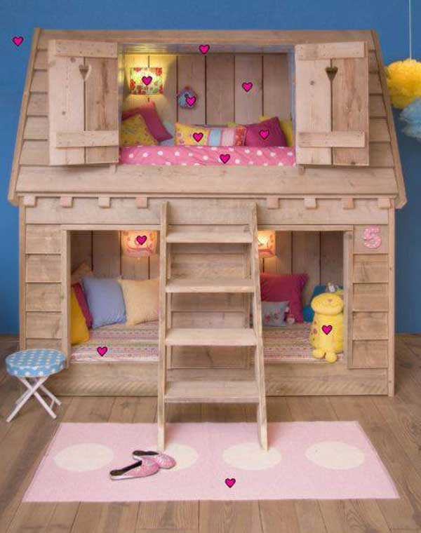 Fairy Tale Girl Bedroom Woohome 18