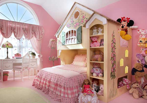 Lovely Fairy Tale Girl Bedroom Woohome 2