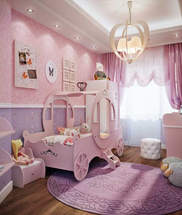Fairy Tale Girl Bedroom Woohome 3